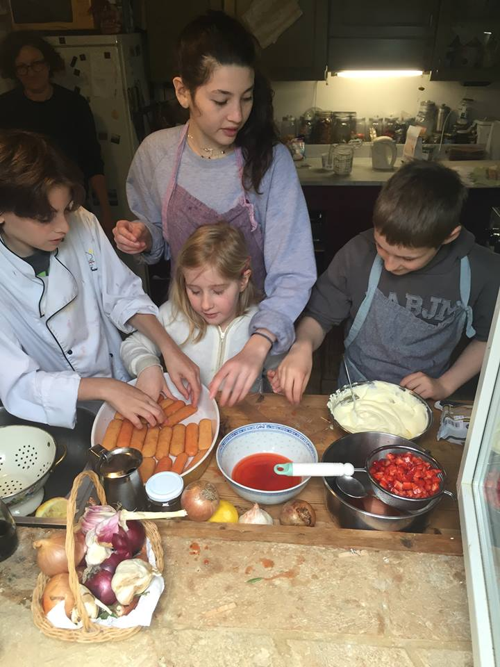 Cooking with Rafaella